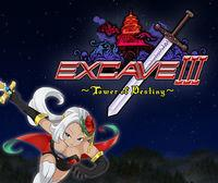 Portada oficial de Excave III : Tower of Destiny eShop para Nintendo 3DS