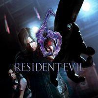Portada oficial de Resident Evil 6 para PS4