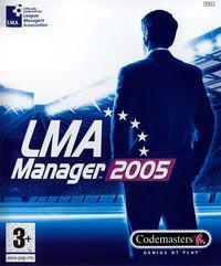 Portada oficial de Manager de Liga 2005 para PS2
