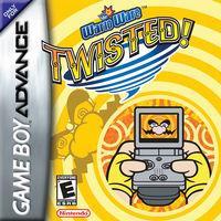 Portada oficial de Wario Ware Twisted! para Game Boy Advance