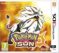 Portada oficial de Pokémon Sol / Luna para Nintendo 3DS