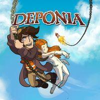 Portada oficial de Deponia para PS4
