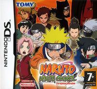 Portada oficial de Naruto Ninja Council para NDS