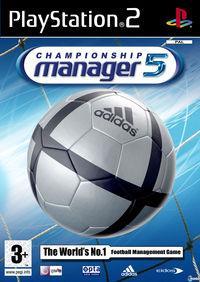 Portada oficial de Championship Manager 5 para PS2