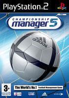 Portada oficial de de Championship Manager 5 para PS2