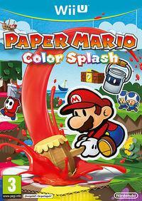 Portada oficial de Paper Mario: Color Splash para Wii U