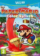 Portada oficial de de Paper Mario: Color Splash para Wii U