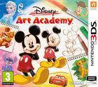 Portada oficial de de Disney Art Academy para Nintendo 3DS