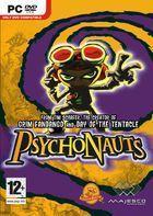 Portada oficial de de Psychonauts para PC