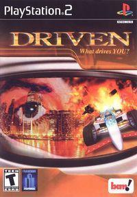 Portada oficial de Driven para PS2