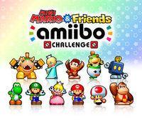 Portada oficial de Mini Mario & Friends: Amiibo Challenge eShop para Nintendo 3DS