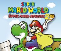 Portada oficial de Super Mario World: Super Mario Advance 2 CV para Wii U