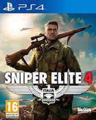 Portada oficial de de Sniper Elite 4 para PS4