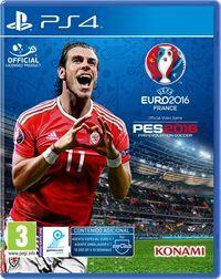 Portada oficial de PES UEFA EURO 2016 para PS4