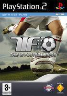 Portada oficial de de Esto es Fútbol 2005 para PS2