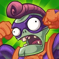 Portada oficial de Plants vs Zombies Heroes para iPhone