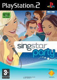 Portada oficial de SingStar Party para PS2