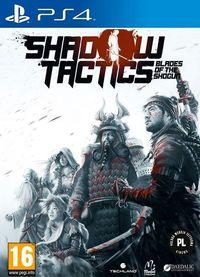 Portada oficial de Shadow Tactics: Blades of the Shogun para PS4