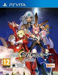 Portada oficial de Fate/Extella: The Umbral Star para PSVITA