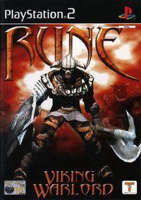 Portada oficial de Rune: Viking Warlord para PS2