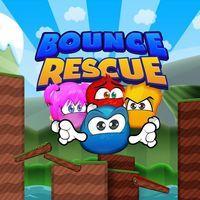 Portada oficial de Bounce Rescue! para PS4
