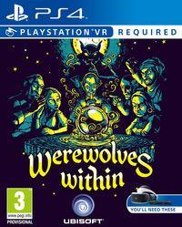 Portada oficial de Werewolves Within para PS4