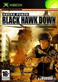 Portada oficial de Delta Force Black Hawk Down para Xbox