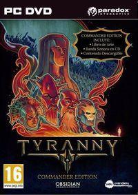 Portada oficial de Tyranny para PC
