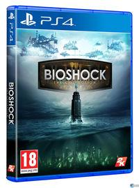 Portada oficial de BioShock: The Collection para PS4