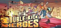 Portada oficial de Double Kick Heroes para PC