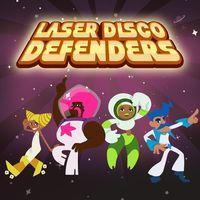 Portada oficial de Laser Disco Defenders para PS4