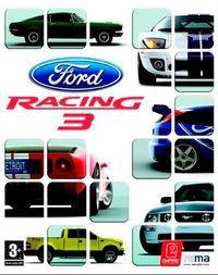 Portada oficial de Ford Racing 3 para PS2
