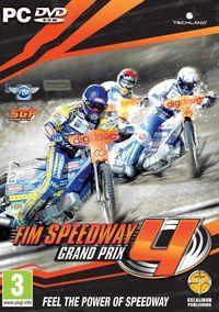Portada oficial de FIM Speedway Grand Prix 4 para PC