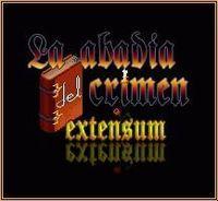 Portada oficial de La Abadía del Crimen Extensum para PC
