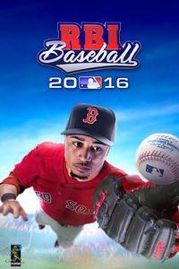 Portada oficial de R.B.I. Baseball 16 para PS4