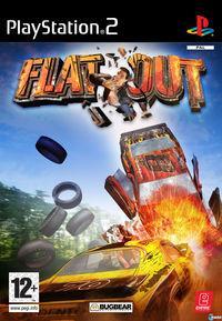Portada oficial de FlatOut para PS2