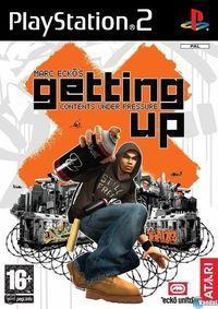 Portada oficial de Marc Ecko Getting Up para PS2