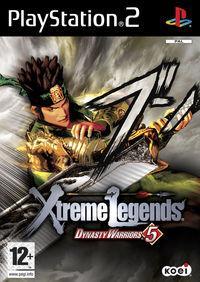 Portada oficial de Dynasty Warriors 5: Xtreme Legends para PS2