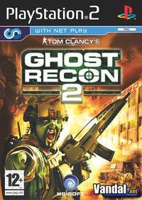 Portada oficial de Tom Clancy's Ghost Recon 2 para PS2