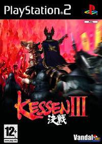 Portada oficial de Kessen 3 para PS2