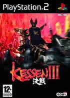 Portada oficial de de Kessen 3 para PS2