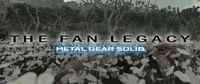 Portada oficial de The Fan Legacy: Metal Gear Solid para PC