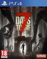 Portada oficial de 7 Days to Die para PS4