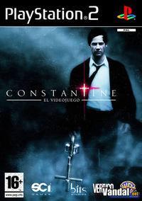 Portada oficial de Constantine para PS2