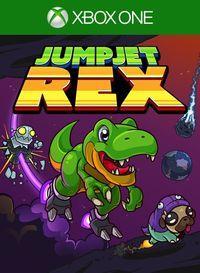 Portada oficial de JumpJet Rex para Xbox One
