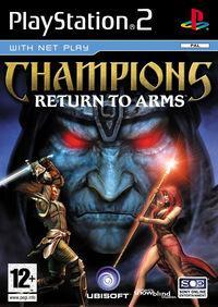 Portada oficial de Champions: Return to Arms para PS2
