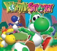 Portada oficial de Yoshi's Story CV para Wii U