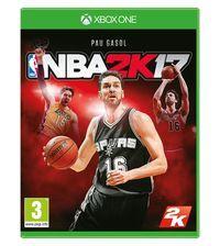 Portada oficial de NBA 2K17 para Xbox One