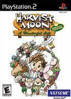 Portada oficial de de Harvest Moon: A Wonderful Life para PS2