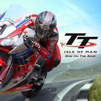 Portada oficial de TT Isle of Man - Ride on the Edge para PS4